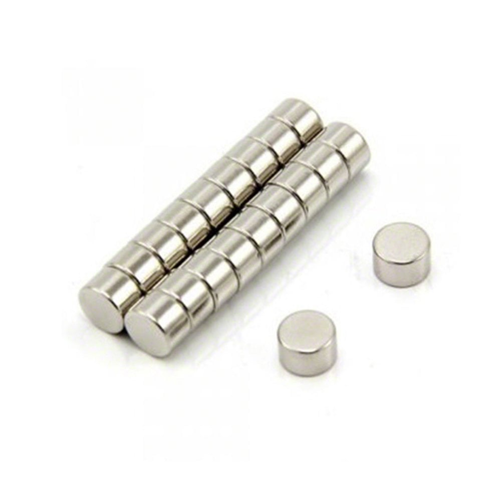 8mm dia x 4mm thick N35 Neodymium Magnet