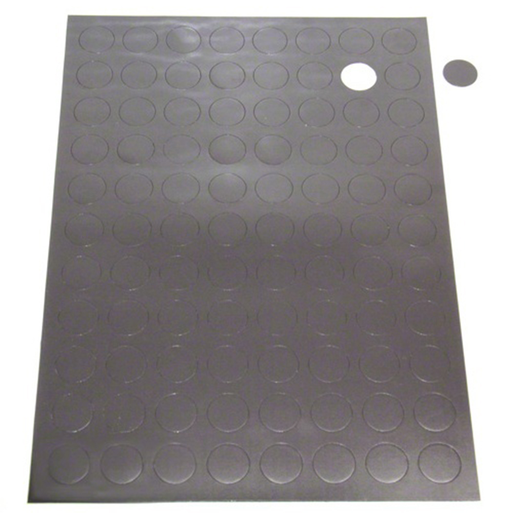 A4 Sheet Of 88 Self Adhesive Magnetic Dots 20mm Dia X 0