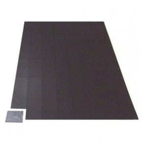 A4 Sheet of 96 Self Adhesive Magnetic Squares (25mm x 25mm x 0.76mm)