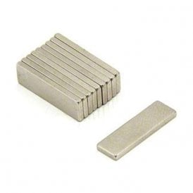 Adhesive 20 x 6 x 1.5mm thick N42 Neodymium Magnet - 1.6kg Pull ( North ) ( Pack of 200 )
