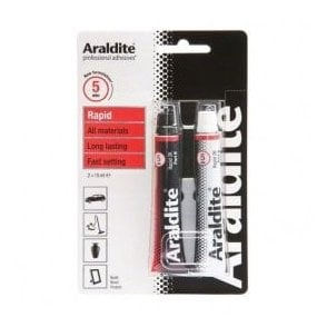 Araldite Rapid Adhesive - Sets In 5mins (2 x 15ml)