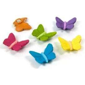 Magnets BUTTERFLY, Set of 6, Assorted