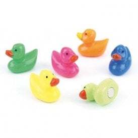 Assorted Animal Style Office Magnets - Ducks (1 set of 6)
