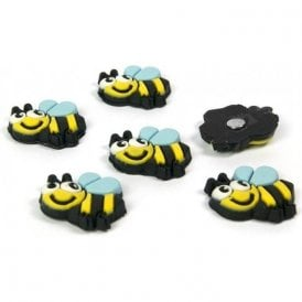 Assorted Animal Style Office Magnets - Honey Bee (1 set of 6)