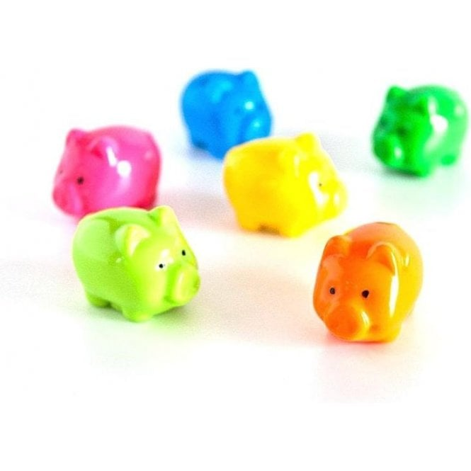 Assorted Animal Style Office Magnets - Pigs