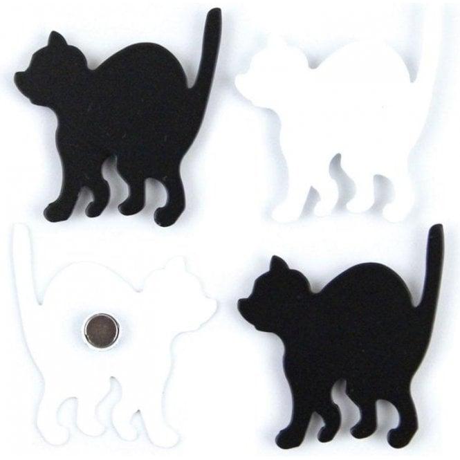 Assorted Deco Office Magnets - Kitty