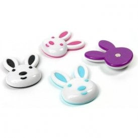 Assorted Deco Shape Office Magnets - Bunny (1 set of 4)