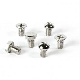 Assorted Deco Shape Office Magnets - Screws ( 1 set of 6 )
