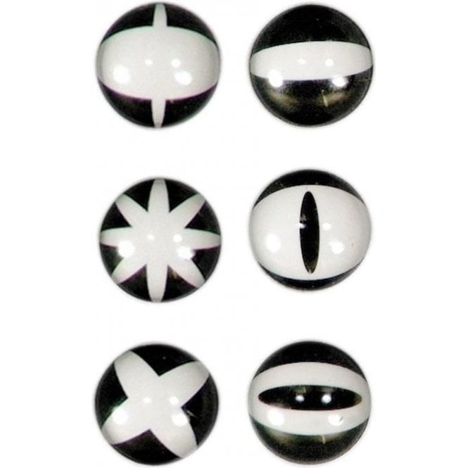 Assorted Domed Circular Office Magnets - Graphic