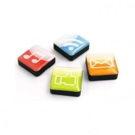Assorted Icon / App Style Magnets - Apps ( 1 set of 4 )