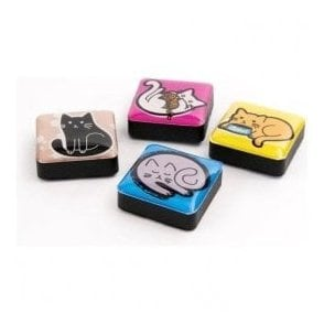 Assorted Icon / App Style Magnets - Cats