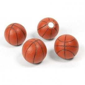 Assorted Popular Shape Office Magnets - Basketball ( 1 set of 4 )