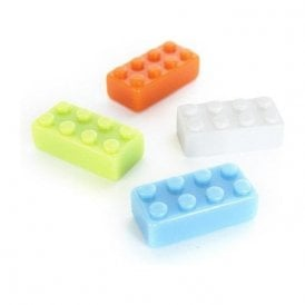 Assorted Popular Shape Office Magnets - Big Brick ( 1 set of 4 )