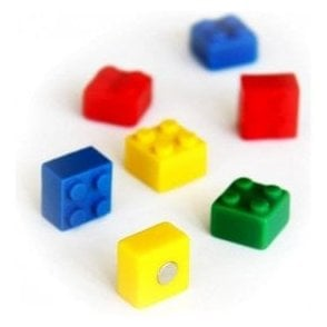 Assorted Popular Shape Office Magnets - Brick