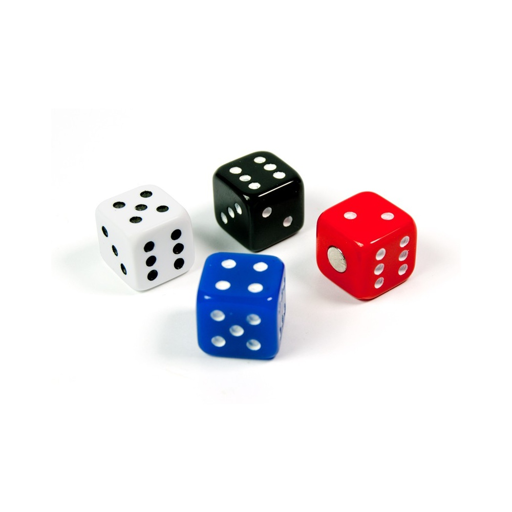 Assorted Popular Shape Office Magnets Dice