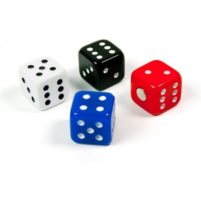 Assorted Popular Shape Office Magnets - Dice