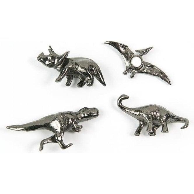 Assorted Popular Shape Office Magnets - Dinosaurs ( 1 set of 4 )