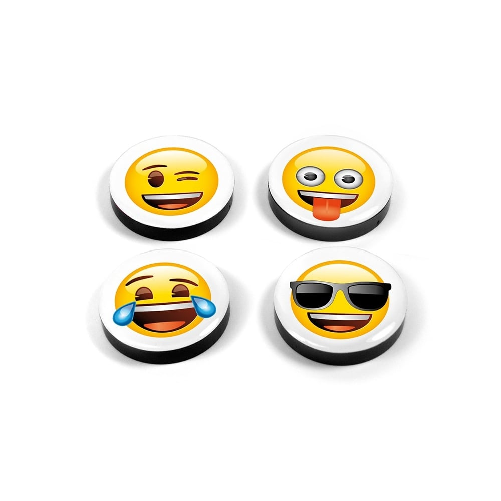 Assorted Popular Shape Office Magnets Emoji Mix 1 Set