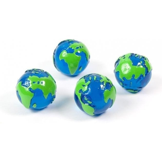 Assorted Popular Shape Office Magnets - Globe (1 set of 4)