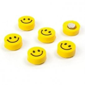 Assorted Popular Shape Office Magnets - Lucky / Smiley