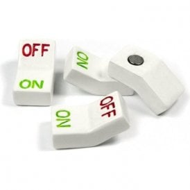 Assorted Popular Shape Office Magnets - Switch