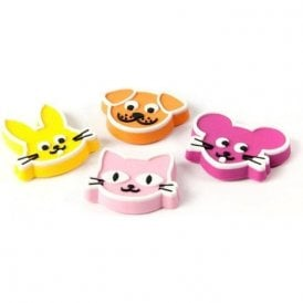 Assorted Rubber Expression Magnets - Pets (1 set of 4)