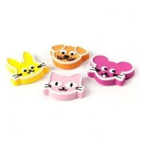 Assorted Rubber Expression Magnets - Pets