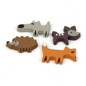 Assorted Rubber Expression Magnets - Prairie / Animals