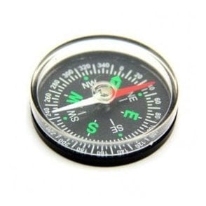 Basic Pocket Compass - Science & Education ( 40mm dia x 9mm thick ) ( Pack of 1 )