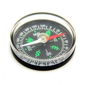 Basic Pocket Compass - Science & Education (40mm dia x 9mm thick) (Pack of 1)