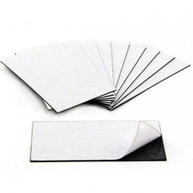 Business Card Magnet - Adhesive front & Magnetic on the back ( 89 x 51 x 0.8mm ) ( Pack of 10 )