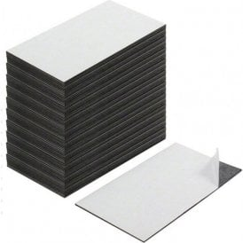 Business Card Magnet - Adhesive front & Magnetic on the back ( 89 x 51 x 0.8mm ) ( Pack of 1000 )