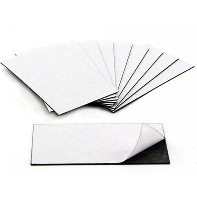 Business Card Magnets - Adhesive front & magnetic on the back (89 x 51 x 0.8mm)