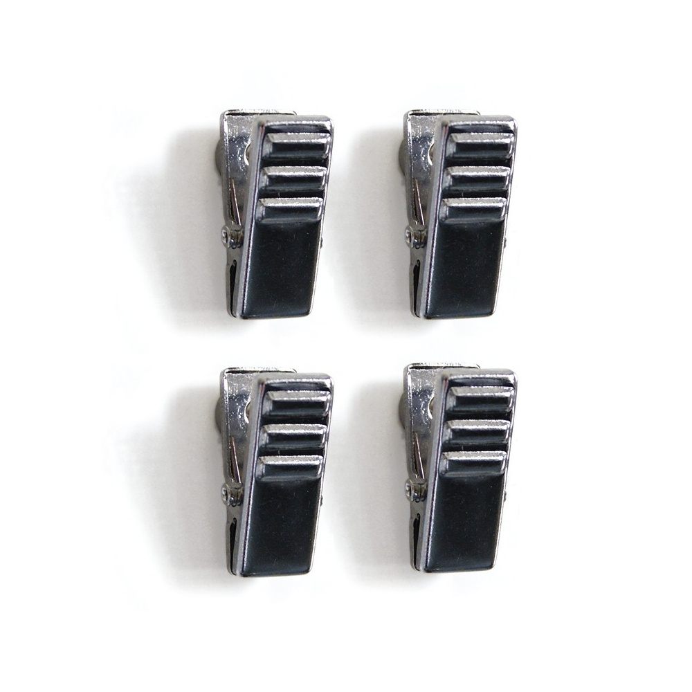 Chrome Magnetic Crocodile Clips First4magnets Com