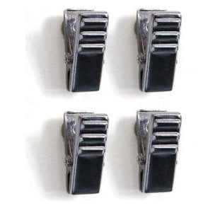 Chrome Magnetic Crocodile Clips