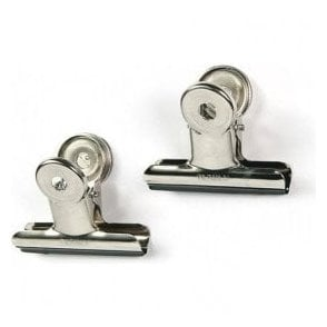 Chrome Magnetic Large Grip Clips