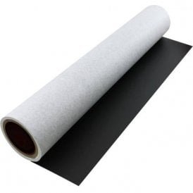 FerroFlex® 600mm Wide Flexible Ferrous Sheet - Non-Woven Wallpaper & Black Chalkboard (1 Metre Length)