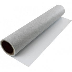 FerroFlex® 600mm Wide Flexible Ferrous Sheet - Non-Woven Wallpaper & Gloss White Dry Wipe Surface (2x 5 Metre Lengths)