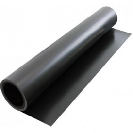 FerroFlex® 620mm Wide Flexible Ferrous Sheet - Self Adhesive / Plain