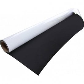 FerroFlex® Ultra 1200mm Flexible Ferrous Sheet - Cling-On and Gloss White Dry-Wipe (5 Metre Length).