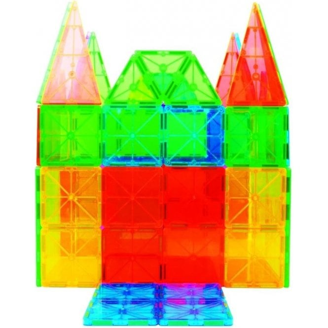 Fun with Magnets Magnetic Building Blocks - 100 piece set
