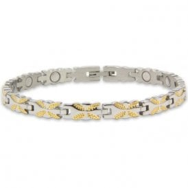 Ladies Rare Earth Magnetic Bracelet with Fold-over Clasp – Ceres