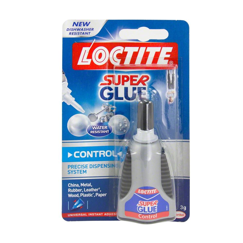 Loctite control super glue adhesive 1 x 3g - Loctite super glue 3 precio ...