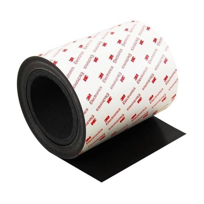 MagFlex® 150mm Wide Flexible Magnetic Sheet - 3M Self-Adhesive