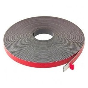 MagFlex® 19mm wide x 2.5mm thick Magnetic Tape with Premium Foam Adhesive