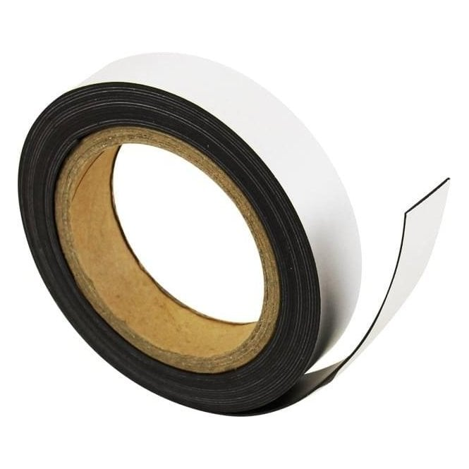 MagFlex® 25mm Wide Flexible Magnetic Strip - Standard Self-Adhesive