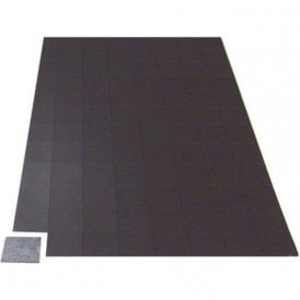 MagFlex® 25mm x 25mm Self Adhesive Flexible Magnetic Squares - 96 per A4 Sheet (Per Sheet)