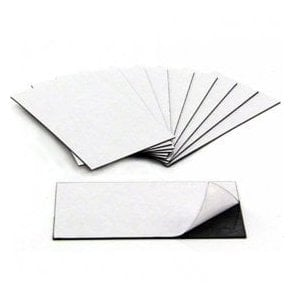 MagFlex® 89mm Long x 51mm Wide Business Card Magnet - Self Adhesive