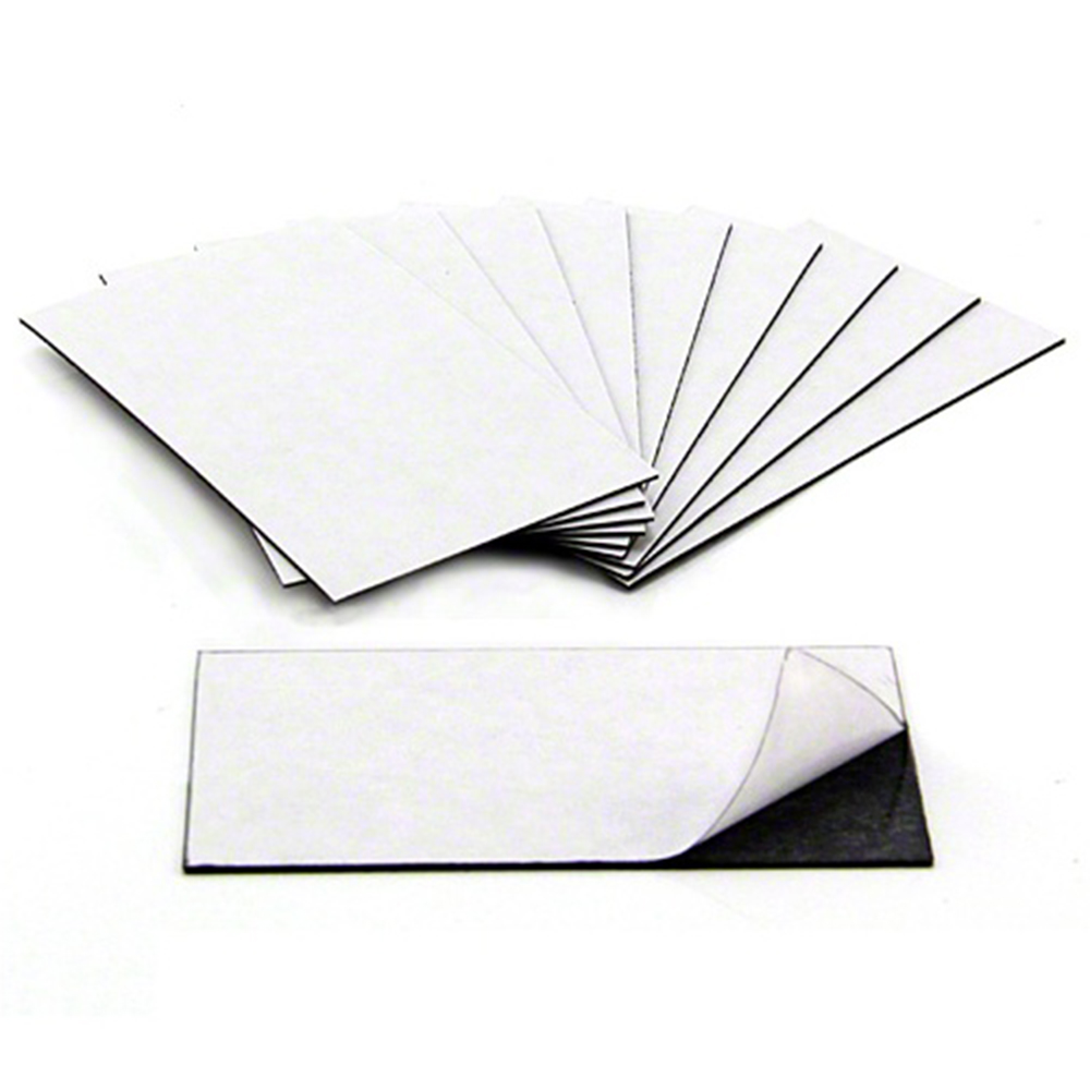 Business Card Magnets - Adhesive front & magnetic on the back (89 x ...