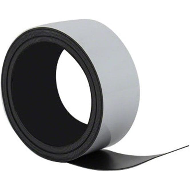 MagFlex® Lite 50mm Wide Flexible Magnetic Label Strip  - Gloss Dry Wipe